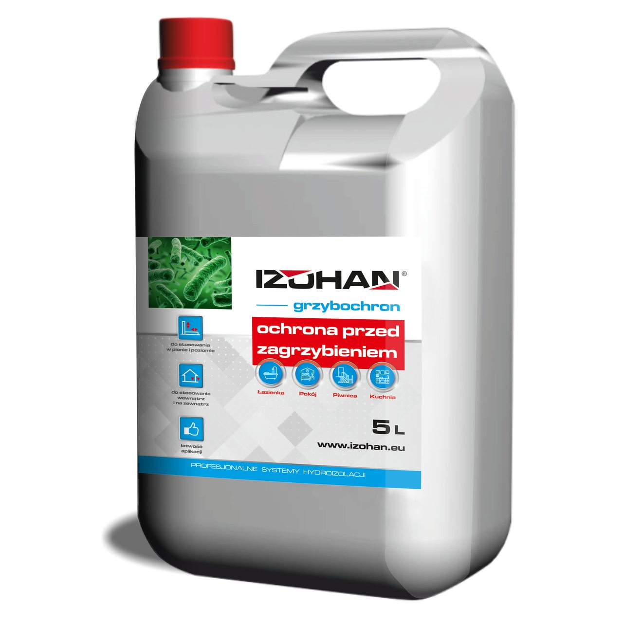 IZOHAN protection against fungi and mould infestation